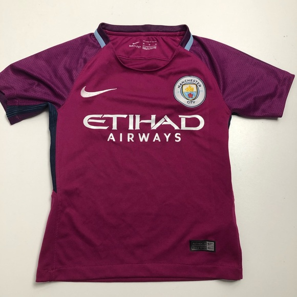 Nike Manchester Cuty Authentic Soccer Jersey